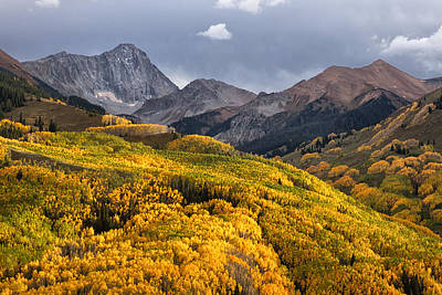 Capitol Peak In Snowmass Colorado Art Print