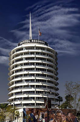 Photograph - Capitol Records Building by Endre Balogh