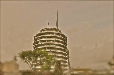 Photograph - Capitol Records by Joe  Burns