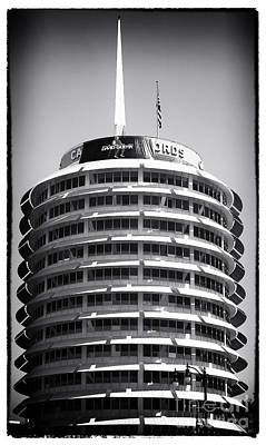 Photograph - Capitol Records by John Rizzuto