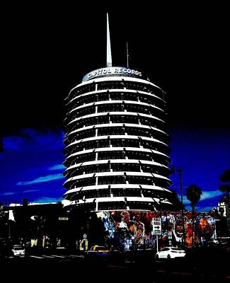 Photograph - Capitol Records by Kimberly Mack