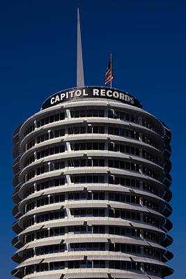 Photograph - Capitol Records by Ron Pate