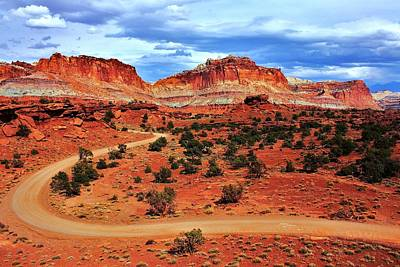 Photograph - Capitol Reef by Benjamin Yeager