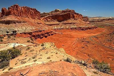 Photograph - Capitol Reef Colorful Landscape by Adam Jewell