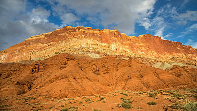 Photograph - Capitol Reef Colorful Landscape by Pierre Leclerc Photography