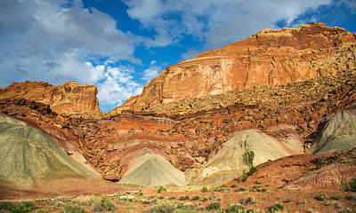 Photograph - Capitol Reef Landscape by Pierre Leclerc Photography