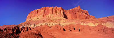 Capitol Reef National Photograph - Capitol Reef National Park Against Blue by Panoramic Images