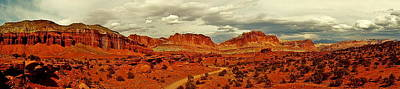 Photograph - Capitol Reef Panorama by Benjamin Yeager