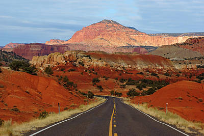 Photograph - Capitol Reef Road IIi by Daniel Woodrum