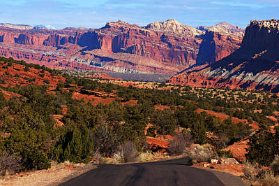 Photograph - Capitol Reef Road Iv by Daniel Woodrum