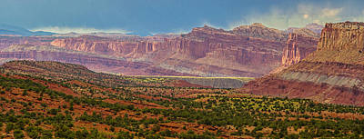 Photograph - Capitol Reef Sunset by Kunal Mehra