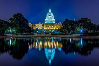 Capitol Reflections Art Print