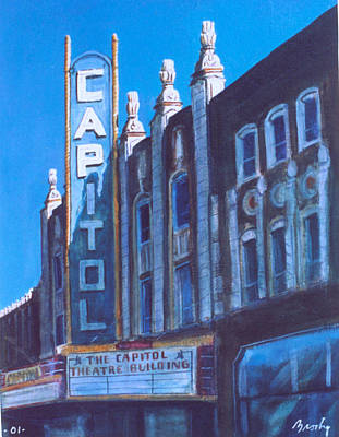 Painting - Capitol Theatre by William Brody