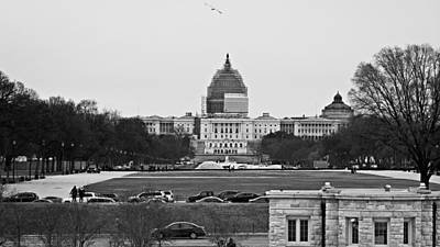 Capitol View 2 Art Print