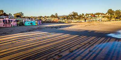 Horizontal Photograph - Capitola City Beach by Priya Ghose