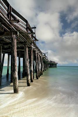 Natural Bridges State Beach Photograph - Capitola Pier by Chris Frost