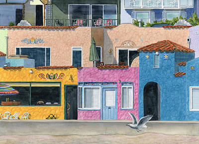 Lodging Painting - Capitola Venetian Two by Karen Wright