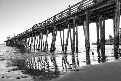 Photograph - Capitola Wharf  by Priya Ghose