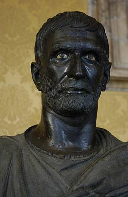 Brutus Photograph - Capitoline Brutus. 4th - 3rd C. Bc by Everett