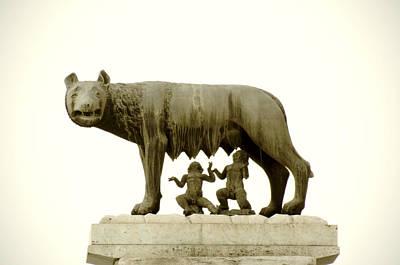 Capitoline Photograph - Capitoline She-wolf by Fabrizio Troiani