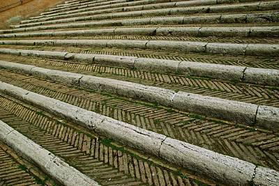Photograph - Capitoline Steps by Eric Tressler