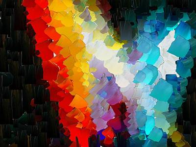 Digital Art - Capixart Abstract 111 by Chris Axford