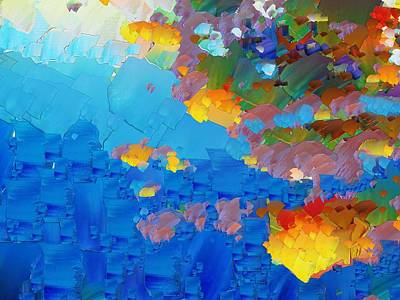Pallet Knife Digital Art - Capixart Abstract 17 by Chris Axford