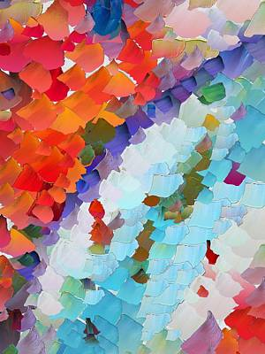 Capixart Abstract 63 Art Print by Chris Axford