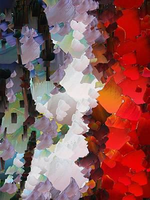 Capixart Abstract 65 Art Print by Chris Axford