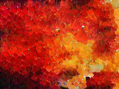 Capixart Abstract 68 Art Print by Chris Axford