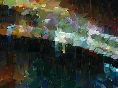 Capixart Abstract 77 Art Print by Chris Axford