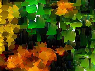 Digital Art - Capixart Abstract 97 by Chris Axford