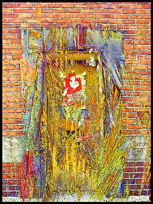 Digital Art - Capone Door by Zac AlleyWalker Lowing