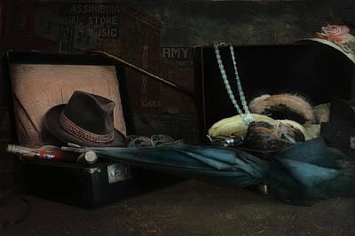 The Umbrellas Digital Art - Capone by Jeff Burgess