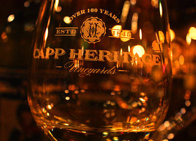 Wine Cellar Photograph - Capp Heritage 2 by Penelope Moore