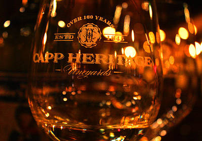 Wine Cellar Photograph - Capp Heritage 3 by Penelope Moore