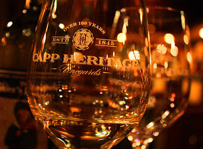 Wine Cellar Photograph - Capp Heritage 4 by Penelope Moore