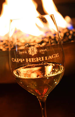 Wine Cellar Photograph - Capp Heritage 5 by Penelope Moore
