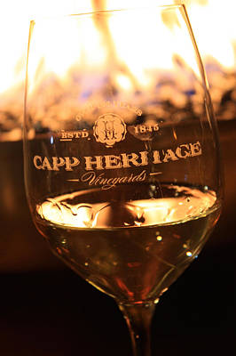 Wine Cellar Photograph - Capp Heritage 7 by Penelope Moore