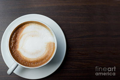 Cappuccino Art Print by Ivy Ho