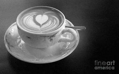 Cappuccino  Art Print by Louise Fahy