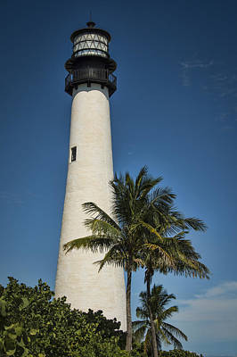 Photograph - Cape Florida Lighthouse by Penny Lisowski