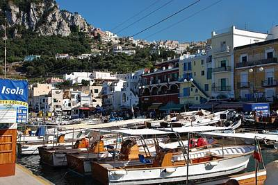 Photograph - Capri Harbor by Dany Lison