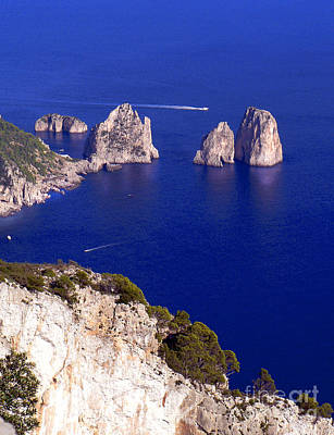 Photograph - Capri Italy Seascape by Russ Murry