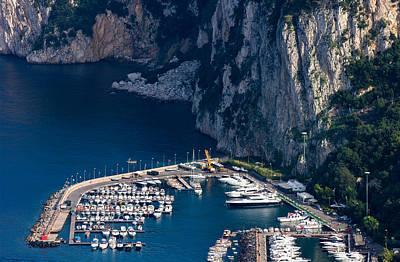 Photograph - Capri Marina by Carl Amoth