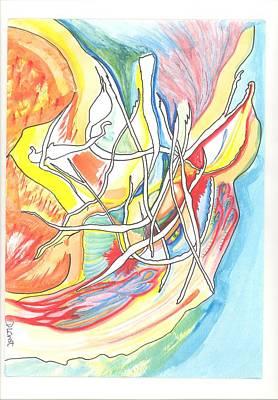 Capricious Art Print by Donna Crist