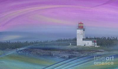 Capricious Lighthouse... Art Print