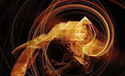 Sign Of Zodiac Digital Art - Capricorn by Floria Rey
