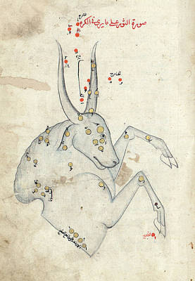 Rahman Photograph - Capricornus Constellation by Library Of Congress