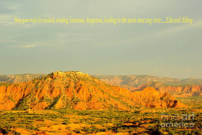 Fashion Paintings - Caprock Canyon State Park by Gary Richards